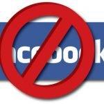facebook bloccato