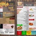 menu per ristorante pizzeria