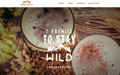 sito web per birreria artigianale