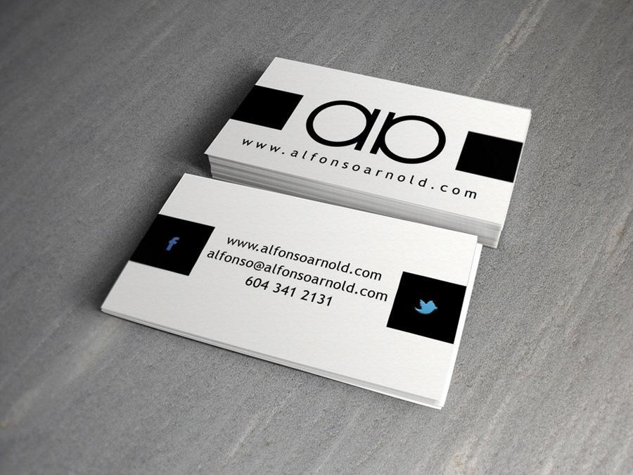 Famoso Biglietti da Visita personalizzati per Fotografo e Studio  OU33