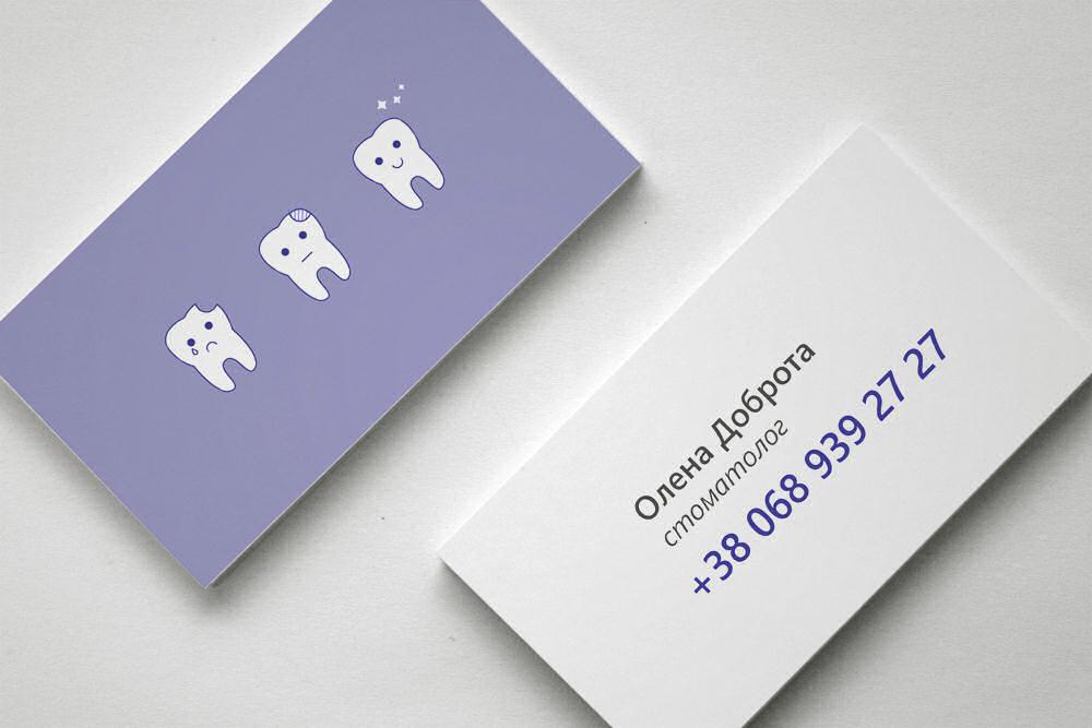 Molto Biglietti da Visita professionali per Dentista, esempi ed idee  TC52
