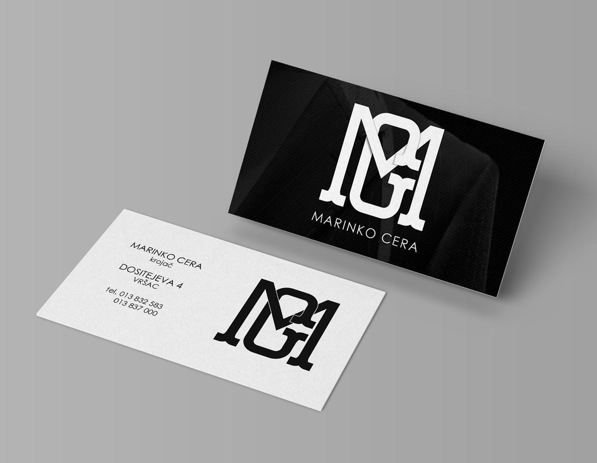 Preferenza Biglietti da Visita per Sarto, Stilista, Fashion Designer  NG82