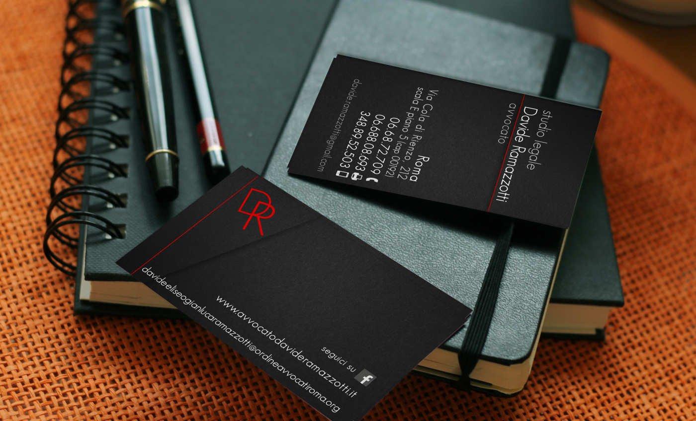 biglietti da visita per avvocato roma