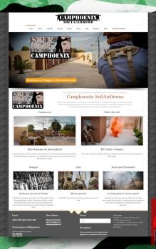 Camphoenix 2015: restyling sito internet web friendly
