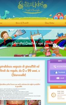 Realizzazione sito con negozio online